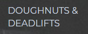 Doughnuts & Deadlifts Coupons