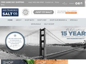 SAN FRANCISCO SALT Coupons
